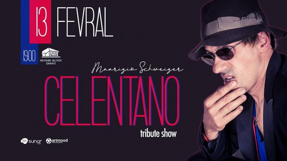 В Баку состоится всемирно известное «Celentano Tribute Show»